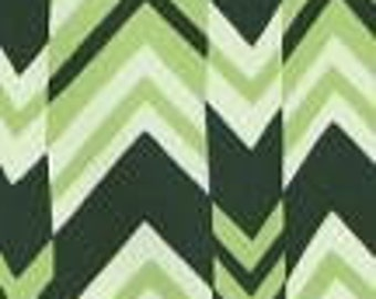 Rare Amy Butler Nigella Collection Decor Weight of Ritzy Stripe color Forest Fabric is mailed via Priotiy Mail
