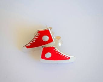 Red Sneakers studs