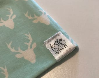 Mint Mini Buck Hipster Beanie