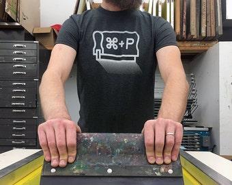 Cmd + P - Print Shirt