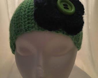 Handmade crochet earwarmer (headband)