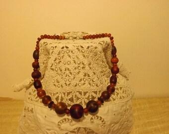 Former collar falling cherry color amber bakelite