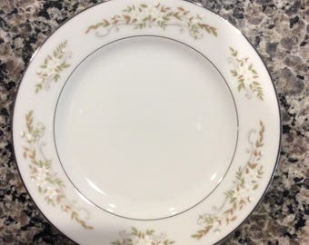"""China / Bread and Butter Dish 6.25"""" /  International  Silver Co. from the 60's / Pattern is 326 Springtime"""