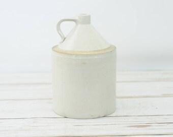 Vintage/Antique Stoneware Jug Buckeye 1 Gallon Macomb Pottery