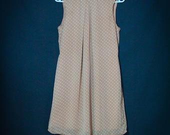 Vintage 1960's dress s pattern small pea size 38 - Bohemian/Vintage/romantic