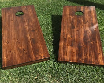 Solid Wood Corn hole Game board