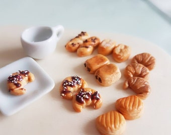 Butter Croissant French pastries