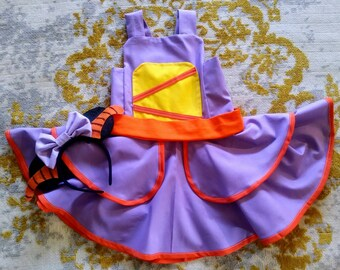 Figment Inspired Dress