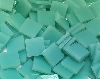 Turquoise Stained Glass Mosaic Tiles
