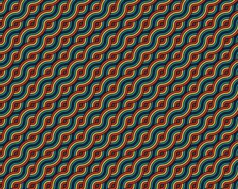 Print | Generative Art | Waves 02