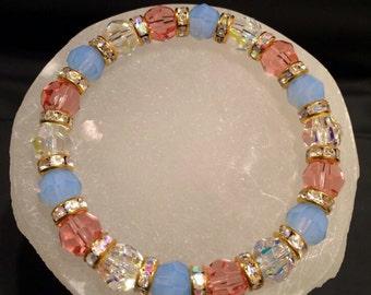 Incarnated Angel Swarovski Crystal Healing Bracelet