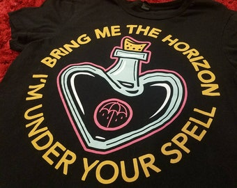 Bring Me The Horizon I'm Under Your Spell Graphic Band Tee