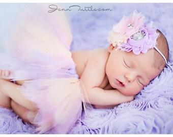 Newborn Tutu, Baby Tutu Set, Newborn Tutu Set, Photo Prop, newborn photo prop, Tutu Skirt, pastel tutu set, newborn tutu and headband set,