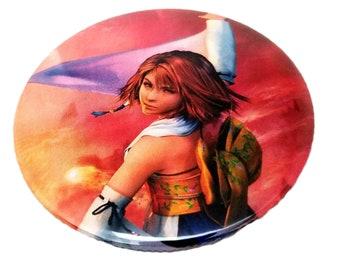 3-Inch Yuna (Final Fantasy X) Pin-Back Button