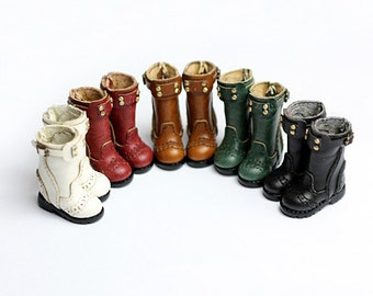 Motorcycle boots for Blythe/DAL/Pullip/Momoko/AZONE/JerryBerry