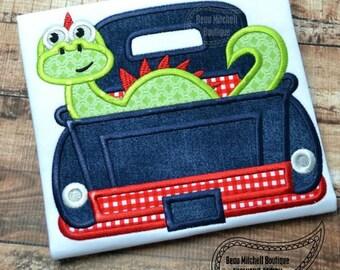 Dino truck applique
