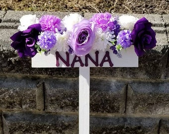 Cemetery Flowers, Gravesite Flowers, Memorial Flowers, Silk Flowers, Grave Marker,