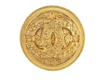 Chanel Etruscan Style Brooch