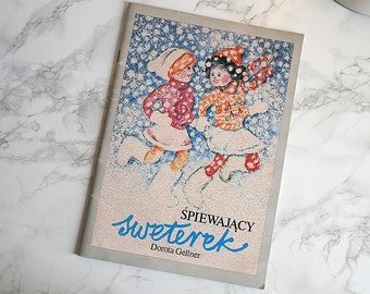 Vintage Illustrated Book | Children's Book | Illustrated Book