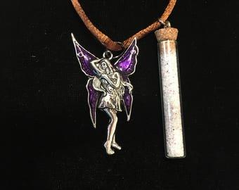 Magical Fairy Sparkles Necklace with Fairy Charm