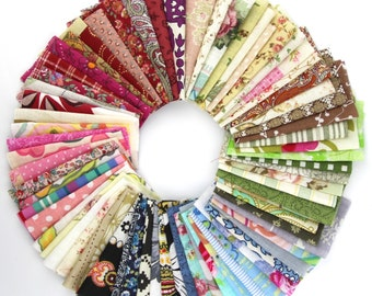 50 piece pack  fabric cotton 100% printed boundle patchwork fabric squares of 10*10cm for sewing buttons craft (SKU:CTJZ21-FSC1010-50)