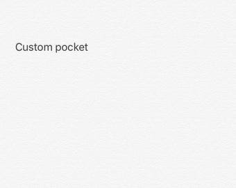 Custom pocket tee