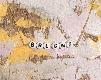Girl Gang Necklace gold filled