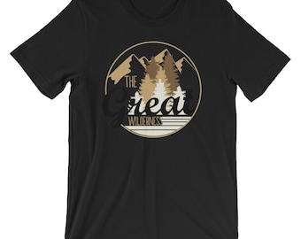 The Great Wilderness T-shirt Rugged Outdoor Tee