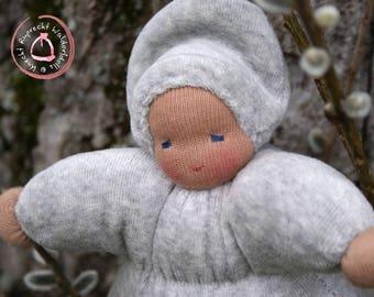 Willow Catkin Doll - Pussy Willow Doll - Waldorfdoll - Waldorf Doll - Cuddle Doll according to waldorf pedagogy -Waldorfdoll Knecht Ruprecht