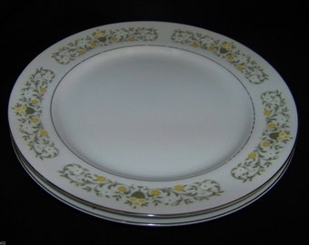 Sterling Fine China by Japan Florentine Pattern Dinner Plate (2)