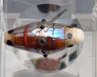 lampwork Barrel Bead
