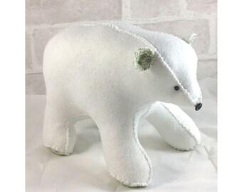 Polar Bear Softie Pattern pdf instant download
