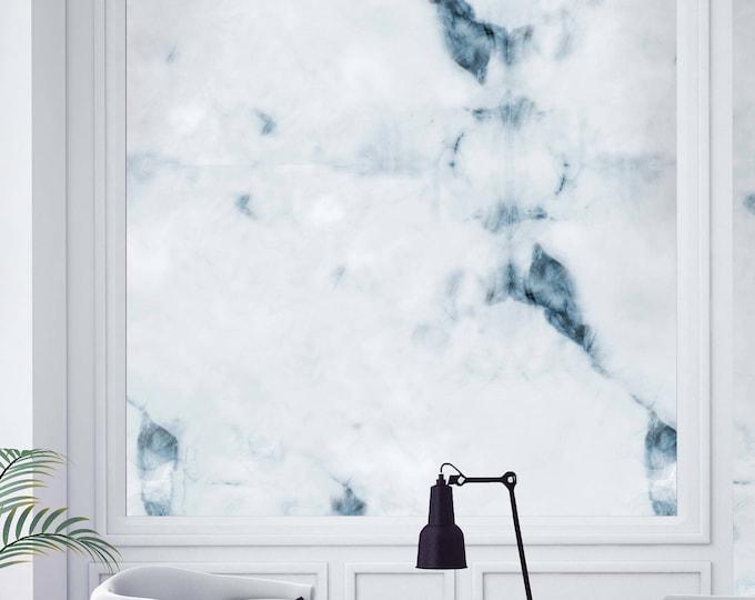 Light blue marble Wallpaper -  Cracked Light blue marble texture - Marble effect Wallpaper