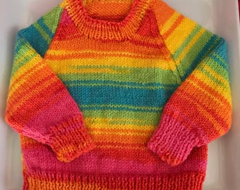Rainbow Jumper for Baby