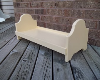 Doll bed for American Girl or any 18 inch doll yellow
