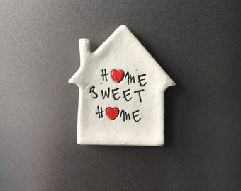 Home sweet home fridge magnet