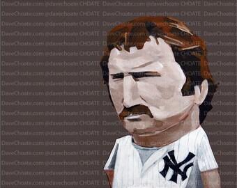 Thurman Munson, New York Yankees Photo Print