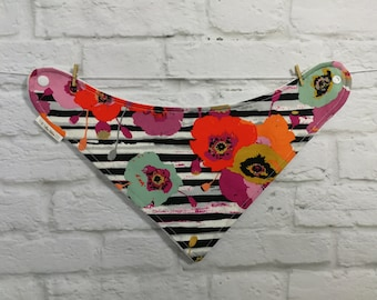 Bandana Bib - Poppy Love