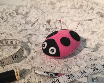 Ladybug Pin Cushion