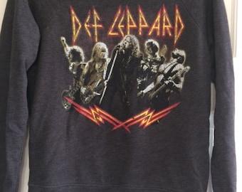 Def Leppard Long Sleeve Shirt Adult Small