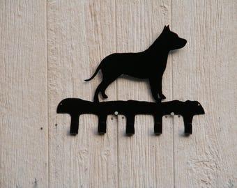 Leash / Key rack Pit Bull