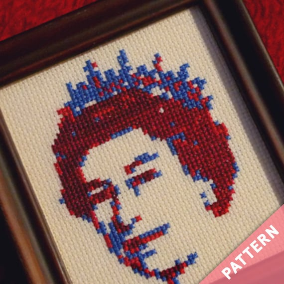 Her majesty the Queen Elizabeth · British Cross Stitch Pattern