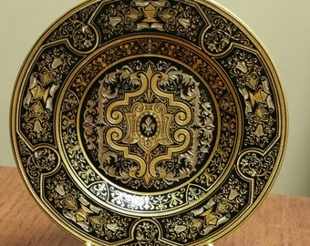 Vintage Copper/Enamel decorative plate