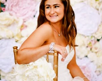 Wedding Flower Backdrop