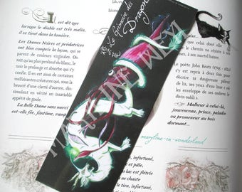 Bookmark dragon monster and white sailor