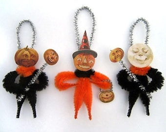 Halloween décoration ornements - Chenille ornements - Halloween Decor