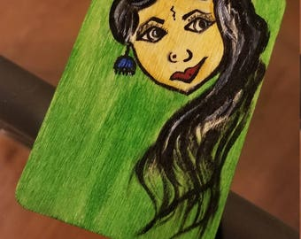 Indian Girl Bookmark