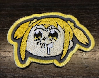 Pop Team Epic Popuko Lemon Face
