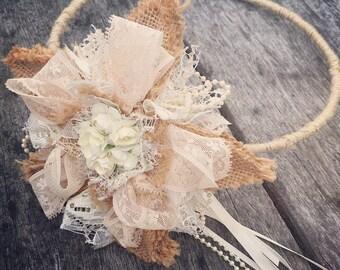 Flower girl  wedding halo