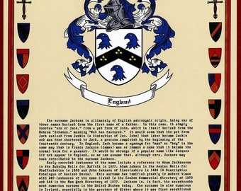 Your Custom Coat of Arms